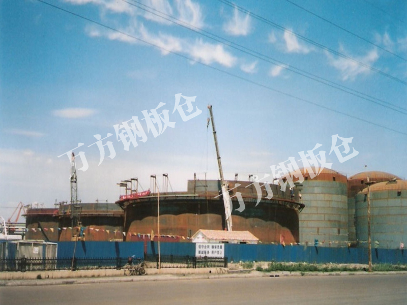 Welded warehouse steel structure